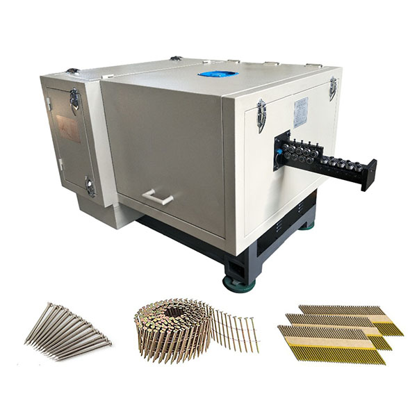 Low Noise High Speed Automatic Nail Making Machine